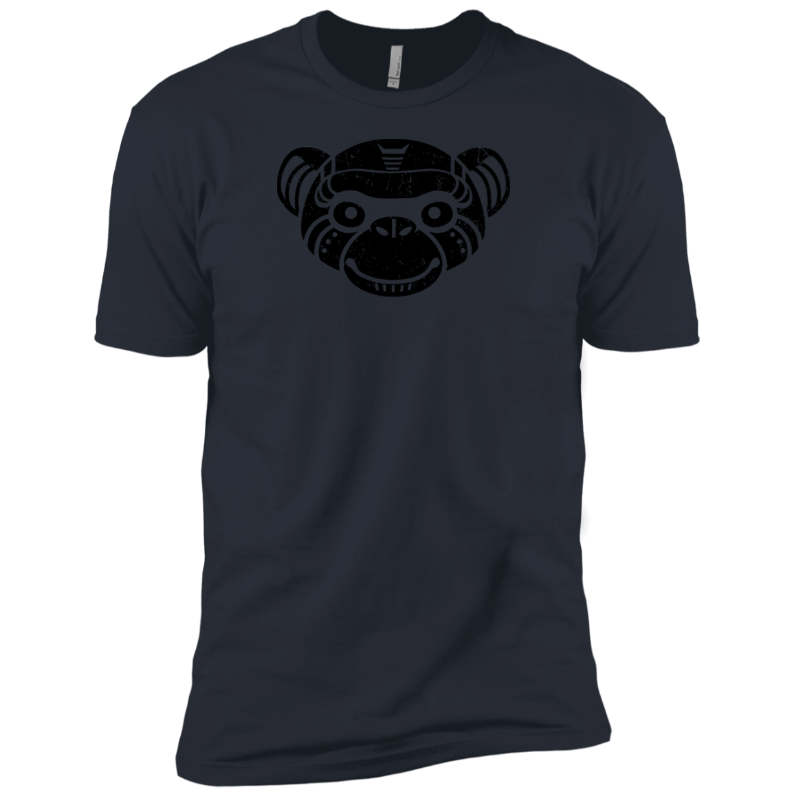 Black Distressed Emblem (Monkey/Fix)