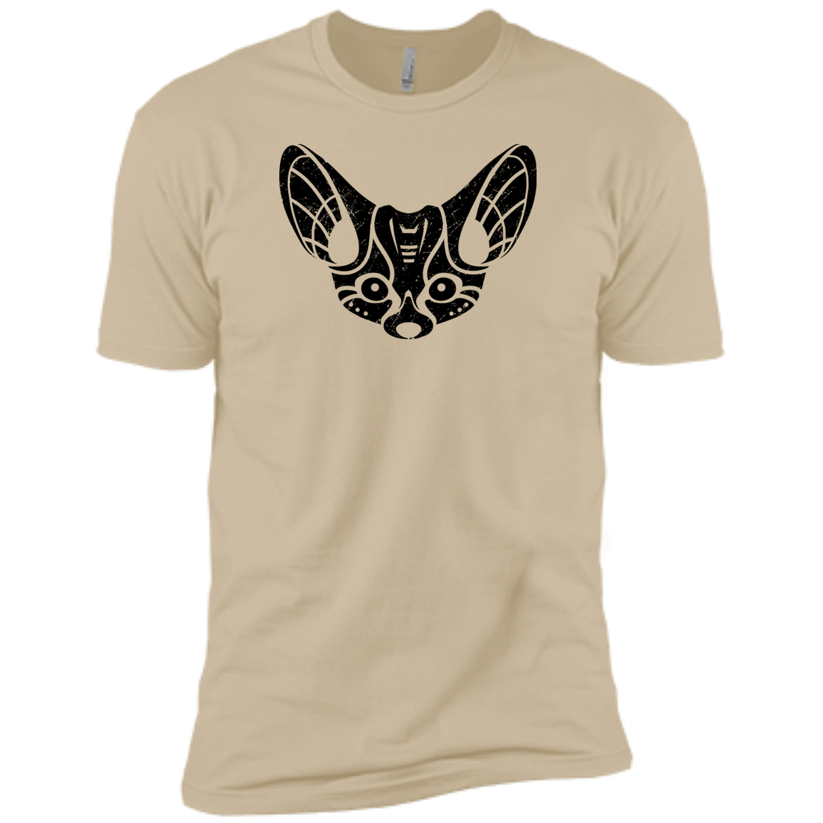 Black Distressed Emblem (Fennec Fox/Fen) - Dark Corps