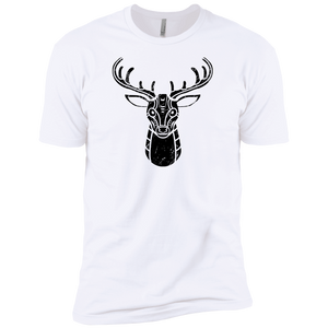 Black Distressed Emblem (Deer/Stag) - Dark Corps