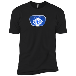 Chest Emblem T Shirt Blue Wolf - Dark Corps