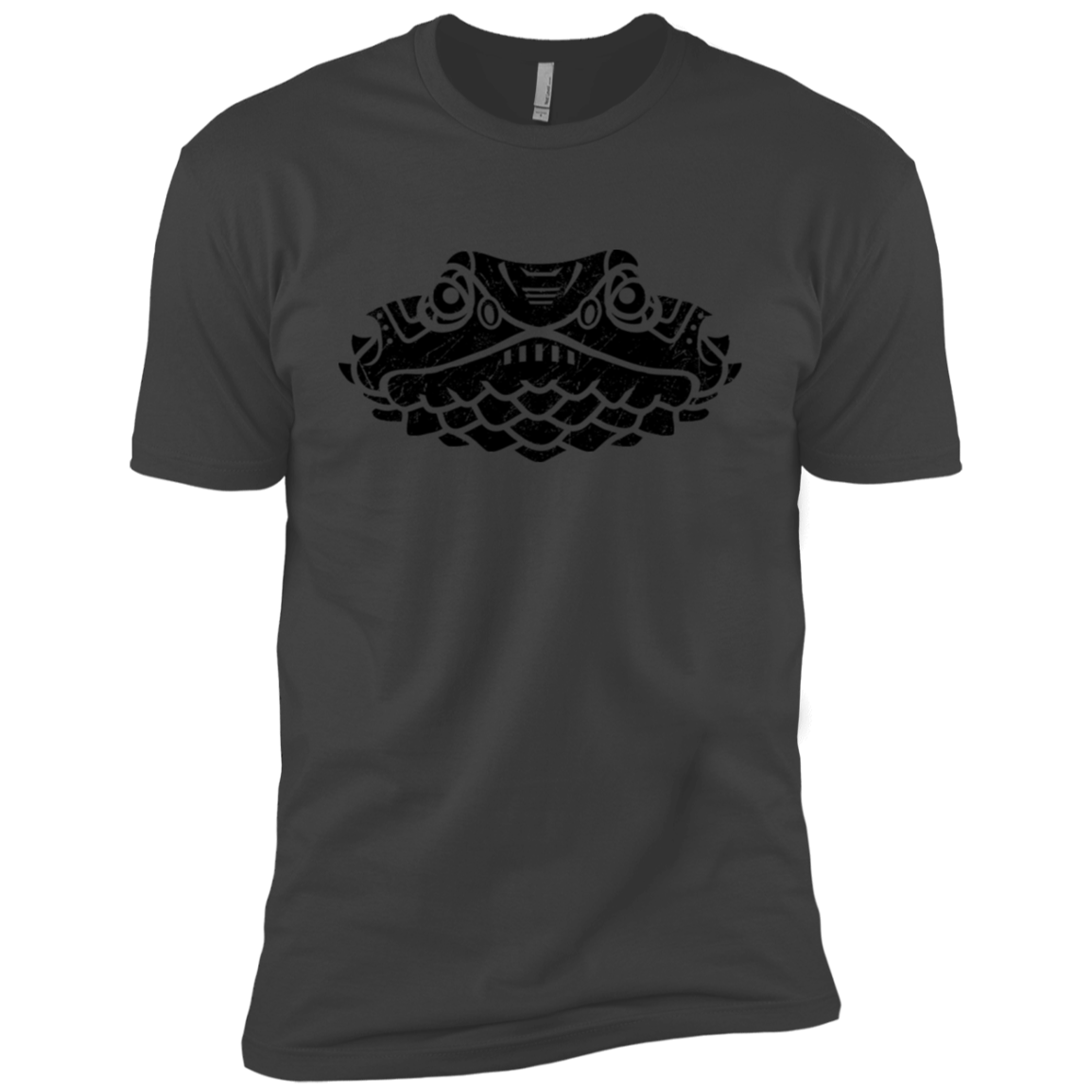 Black Distressed Emblem (Lizard/Queenie) - Dark Corps