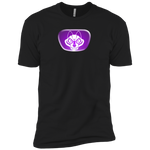 Chest Emblem T Shirt Purple Wolf - Dark Corps