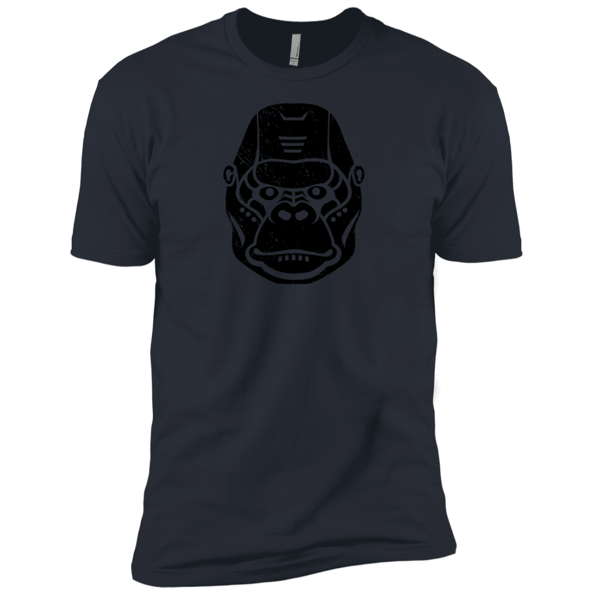 Black Distressed Emblem (Gorilla/Knuckles) - Dark Corps