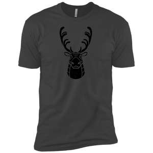 Black Distressed Emblem (Caribou/Spirit) - Dark Corps