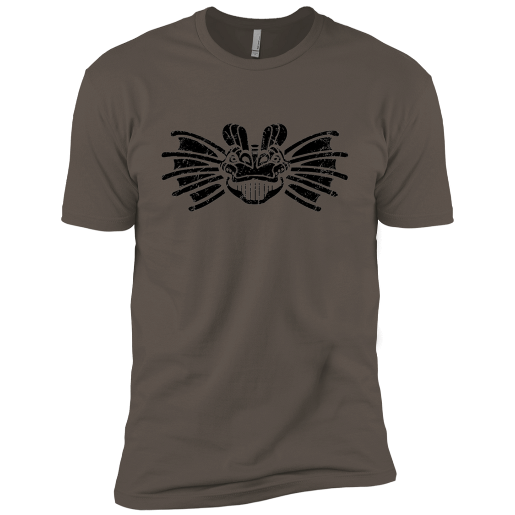 Black Distressed Emblem (Dilophosaurus) - Dark Corps