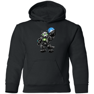 Chomper with Morning Glory Weapon Hoodie for Kids