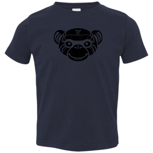 Black Distressed Emblem Toddlers' (Bear) - Dark Corps