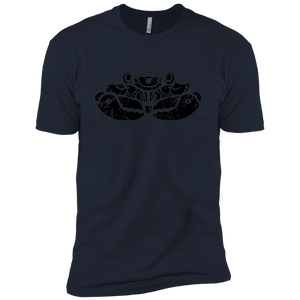 Black Distressed Emblem Men (Crab/Clamps) - Dark Corps