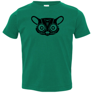 Black Distressed Emblem T-Shirt for Toddlers (Bush Baby/Splicer) - Dark Corps