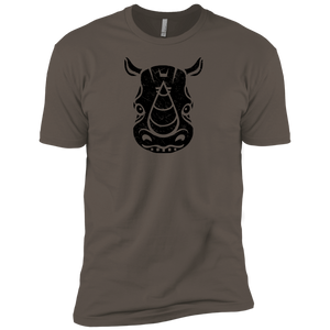 Black Distressed Emblem (Rhino/Tank) - Dark Corps