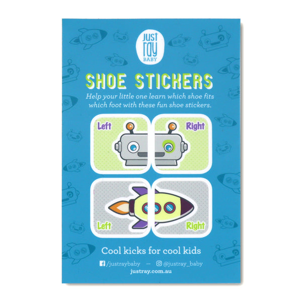Shoe Stickers - Blue