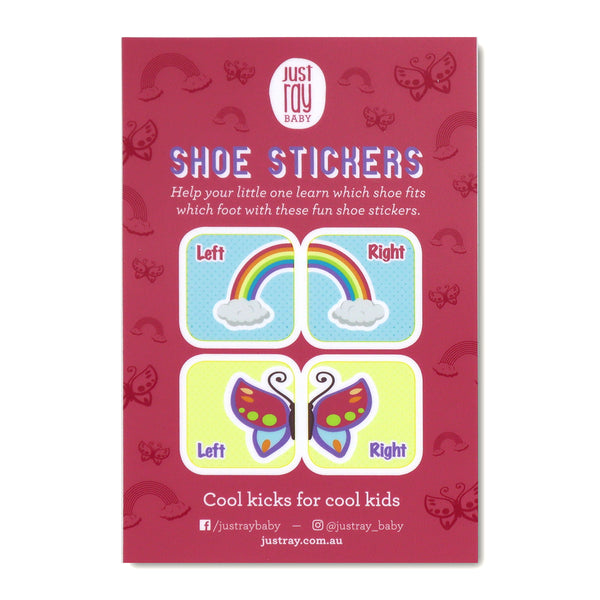 Shoe Stickers - Pink