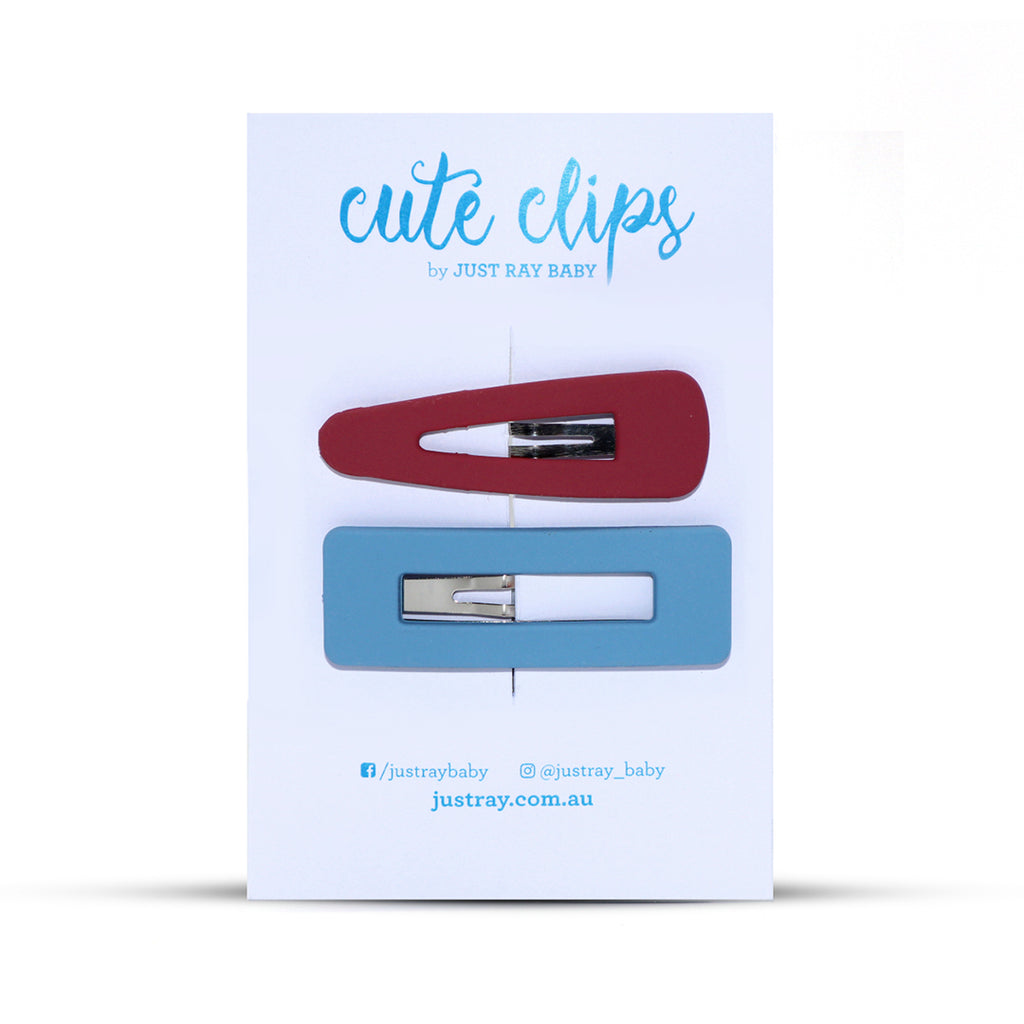 CANDY Clips - Pink and Blue