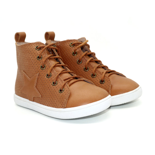 Child SEREN Hightop / Tan (PRE-SALE)