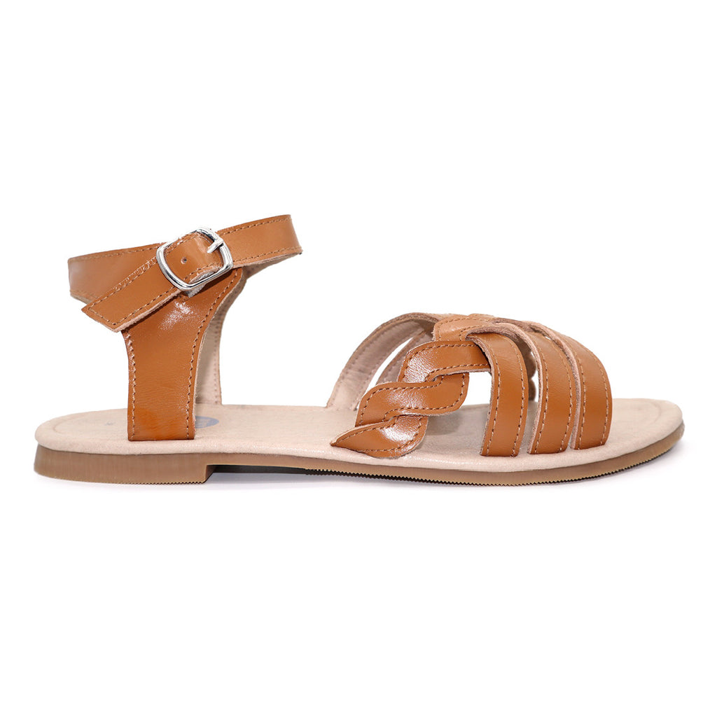 Ladies DUSI sandal / Tan