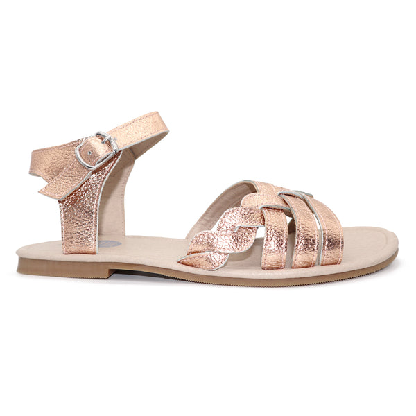 Ladies DUSI sandal / Rose Gold