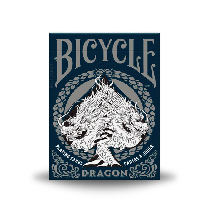 Bicycle Dragon Silver