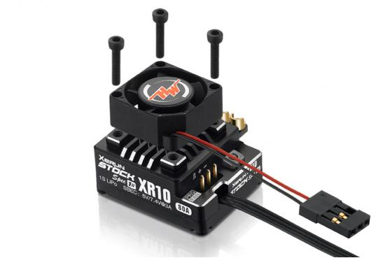 Hobbywing XeRun XR10 Pro Stock Spec ESC (1S) Brushless Speed Controller