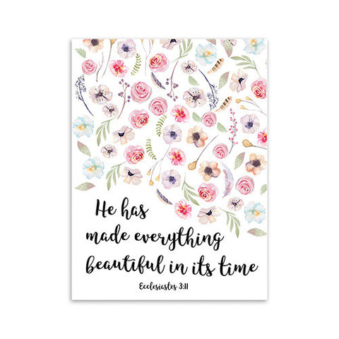 He Has Made Everything Beautiful In Its Time - Pattern 2