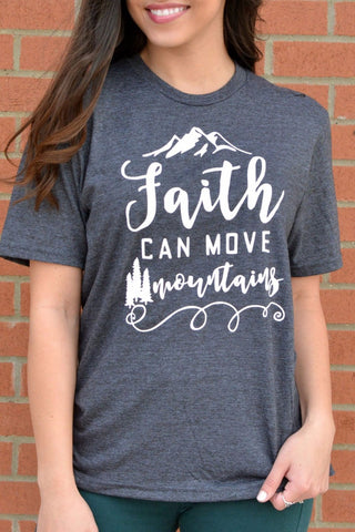 Faith Can Move Mountains - Style 1