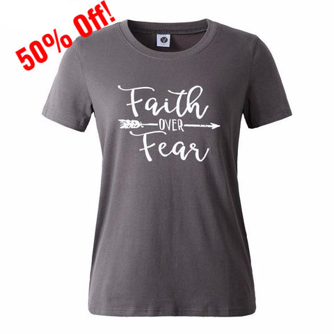 Faith Over Fear Tee - 50% Off