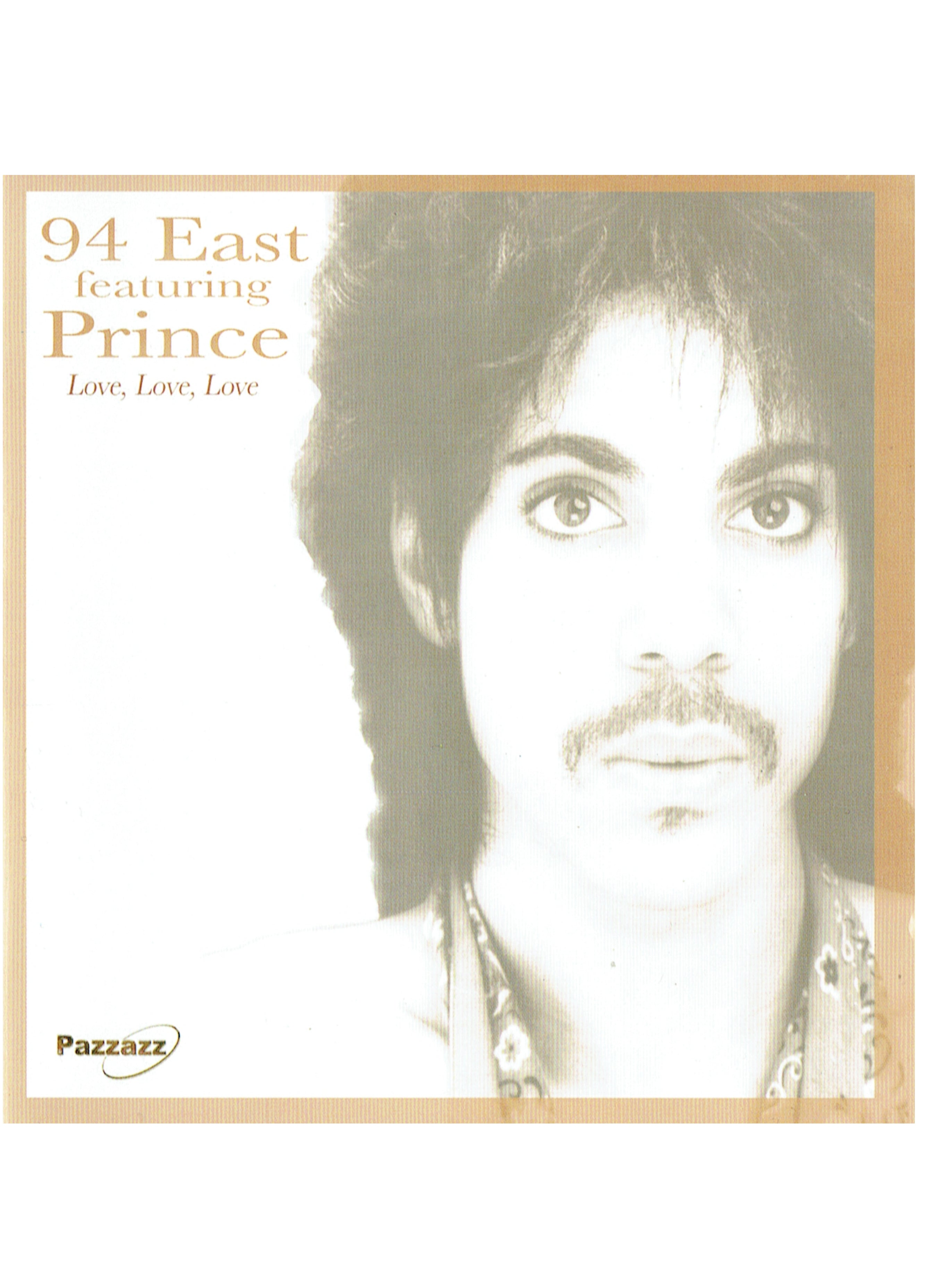 94 East Featuring Prince Love Love Love CD Compact Disc Brand New