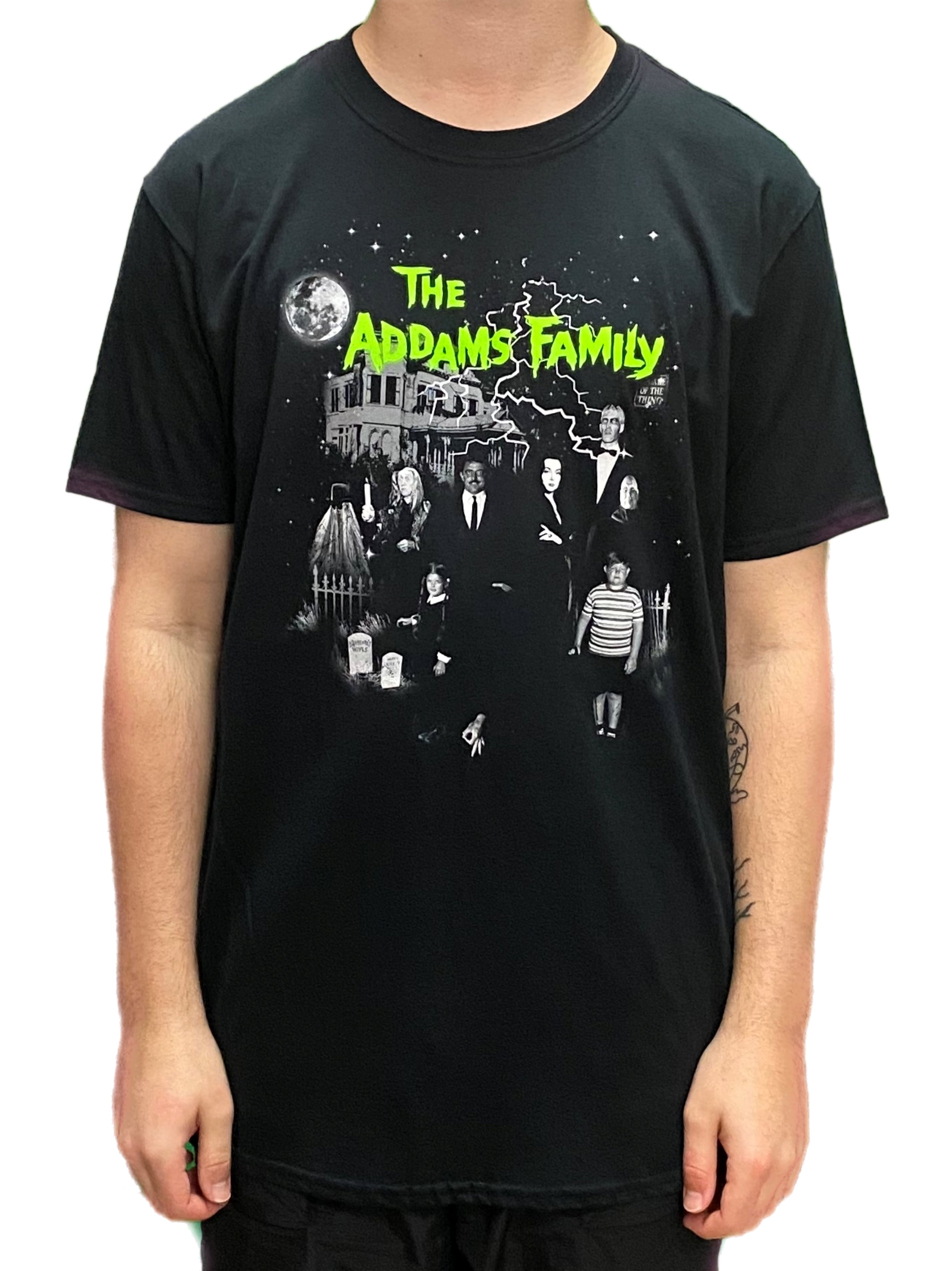 Addams Family House Unisex Official T Shirt Brand New Various Sizes