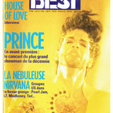 Prince Best Magazine French Language July 1992 Cover & 6 Page Article