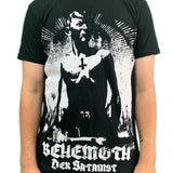 Behemoth Der Satanist Unisex Official T Shirt Front & Back Print Brand New Various Sizes