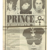 Prince Evening Mail Newspaper July 1993 Front & Back Plus Concert Review