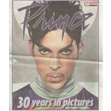 Prince Daily Mirror 30 Years Newspaper 20TEN Advert Fold Out 8 Pages PLUS OTHER DAY PAGES