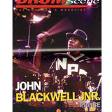 Drum Scene Magazine June 2003 John Blackwell Jnr Cover & 7 Pages & Poster Prince