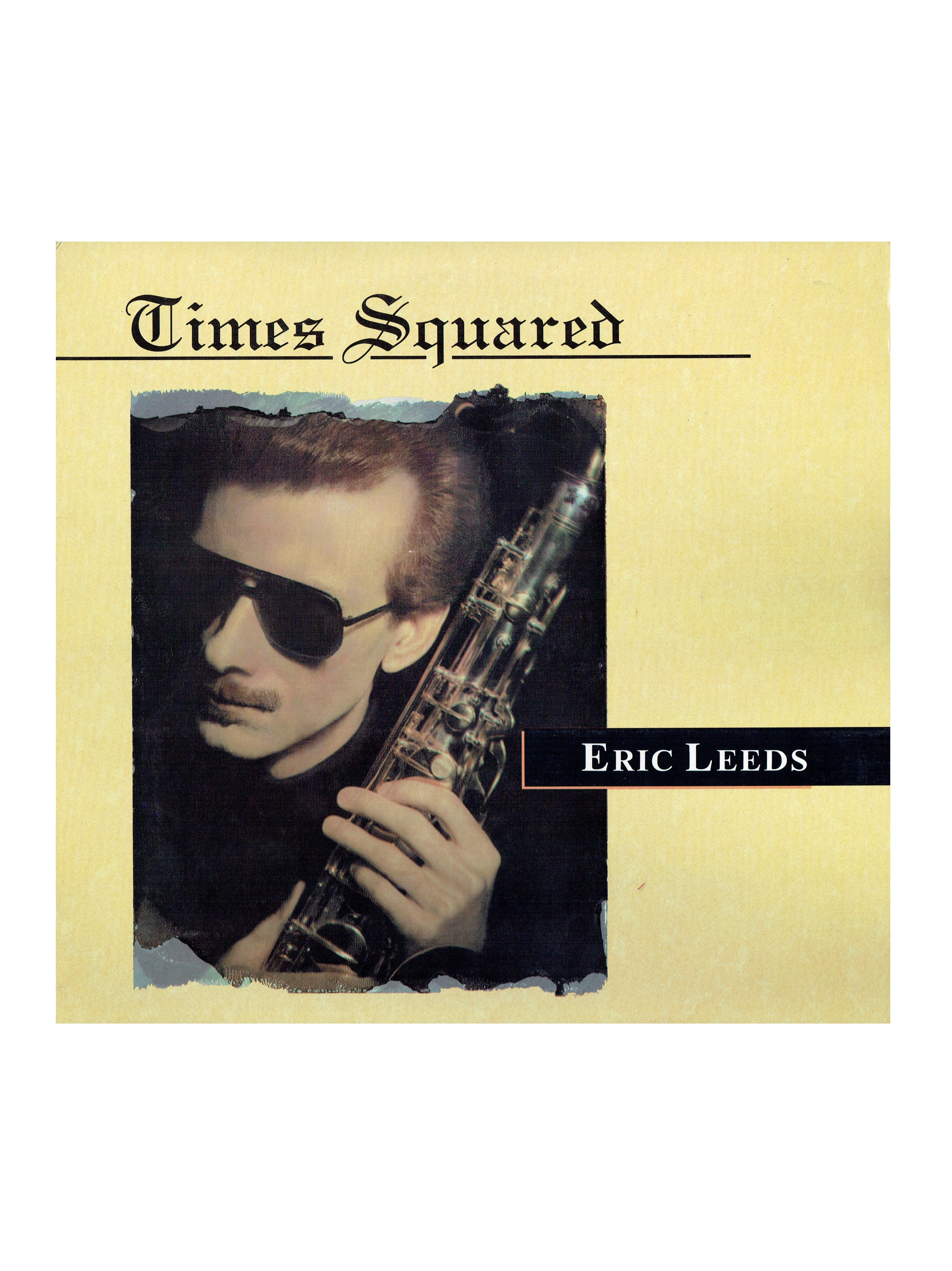 Eric Leeds Times Squared Vinyl Album Paisley Park Featuring Prince 1991 US
