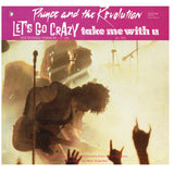 Prince Let's Go Crazy Take Me With U Erotic City France 12 Inch Vinyl WE221 IB