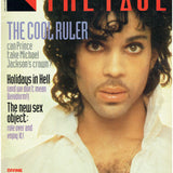 Prince The Face Magazine September 1984 Cover 4 Page Article And Advert
