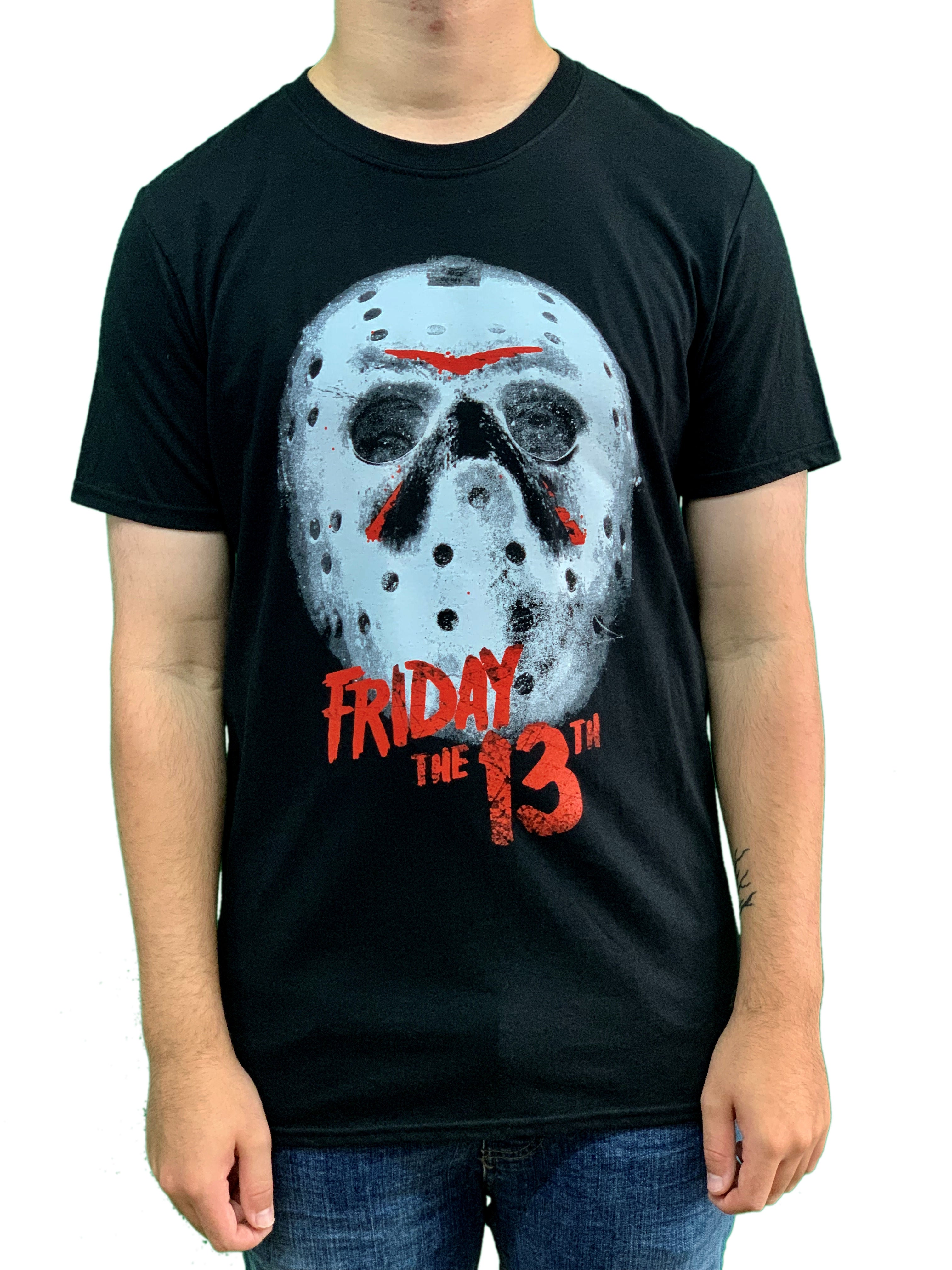 Friday The 13th White Mask Unisex Official T Shirt Brand New Various Sizes