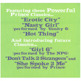 Prince The NPG Girl 6 12 Inch Promotional 12 x 12 Two Sided Card SMS