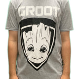 Guardians Of The Galaxy Groot Shield Unisex Official T Shirt Brand New Various Sizes