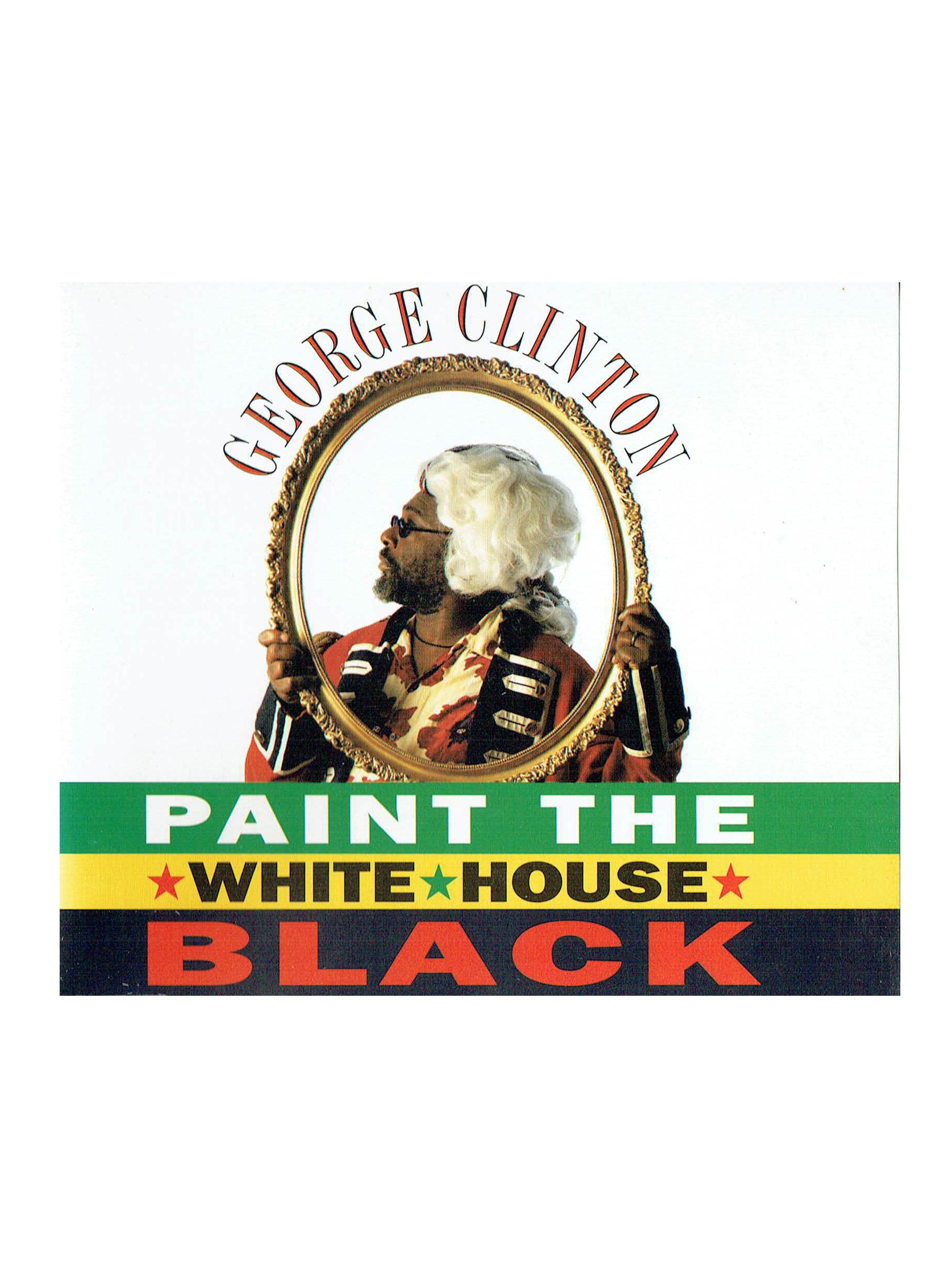 George Clinton Paint The White House Black CD Single Prince