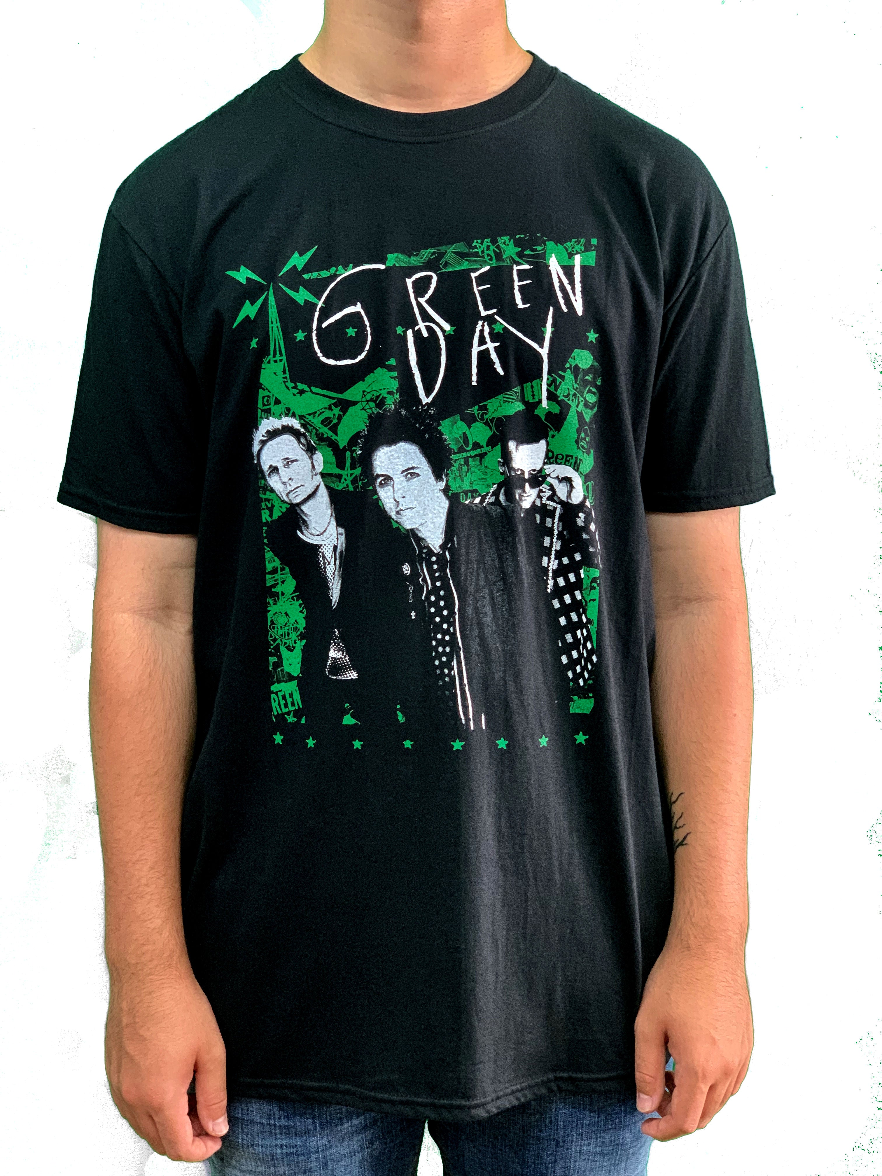 Green Day Lean Unisex Official T Shirt Brand New Various Sizes