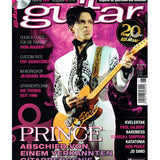 Prince Guitar Magazine June 2016 German Language Cover Plus 8 Page Article & CD