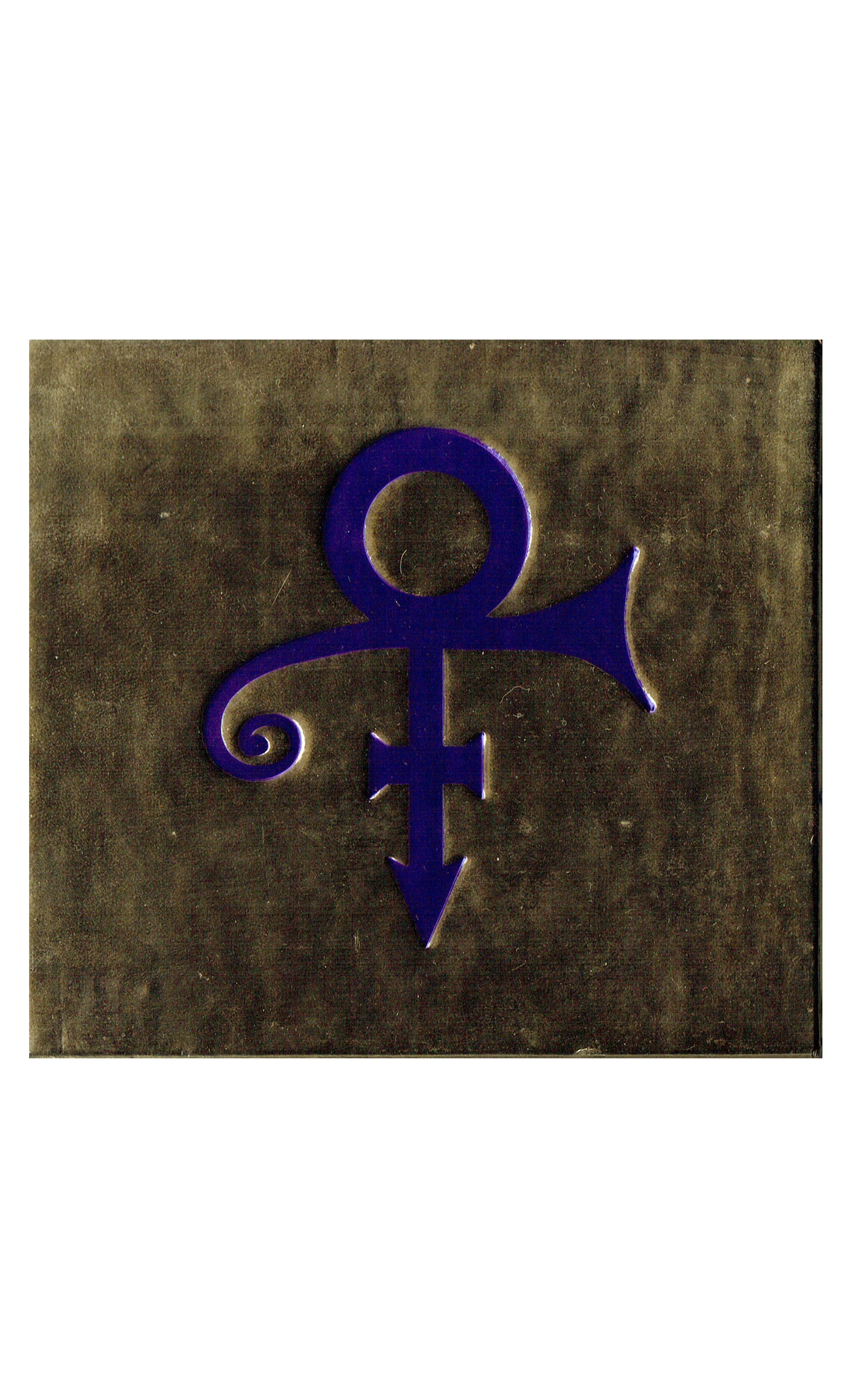 Prince Love Symbol Embossed Limited Edition Gold Symbol Case CD Album 1992