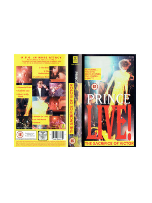 Prince LIVE The Sacrifice Of Victor VHS Video Cassette IB