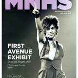 Prince MNHS Special Magazine First Avenue Exhibit Cover & 2 Pages As New