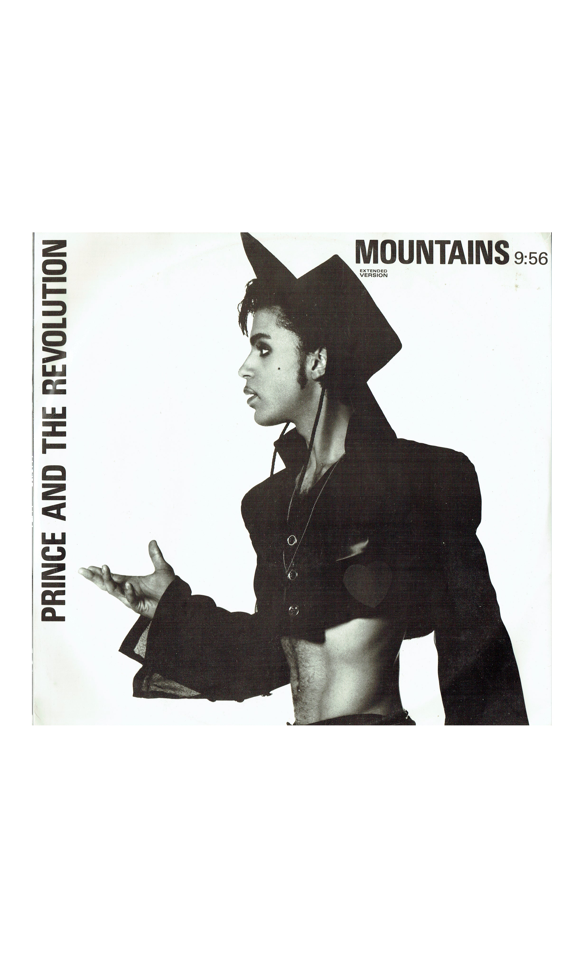 Prince & The Revolution Mountains Ext Version UK 12 Inch Vinyl 1986 2 Tracks W8711T