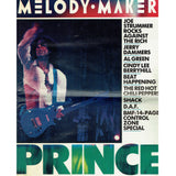 Prince Melody Maker Newspaper July 23rd 1988 Lovesexy Cover & Article