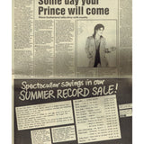 PRINCE Melody Maker Newspaper 6th June 1981