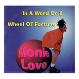 Monie Love  In A Word Or 2 12 Inch Vinyl Maxi Single 1993 Release MCA Prince