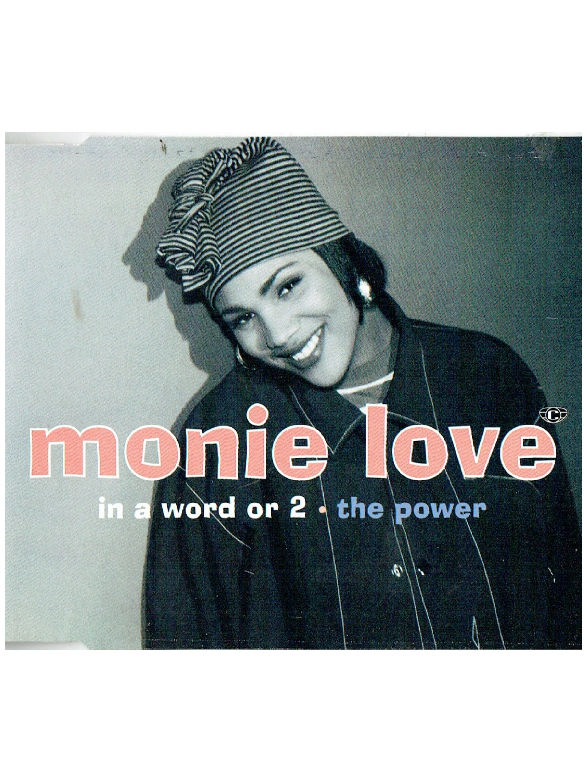 Monie Love In A Word Or 2 CD Single Original 1993 UK Release Written By Prince