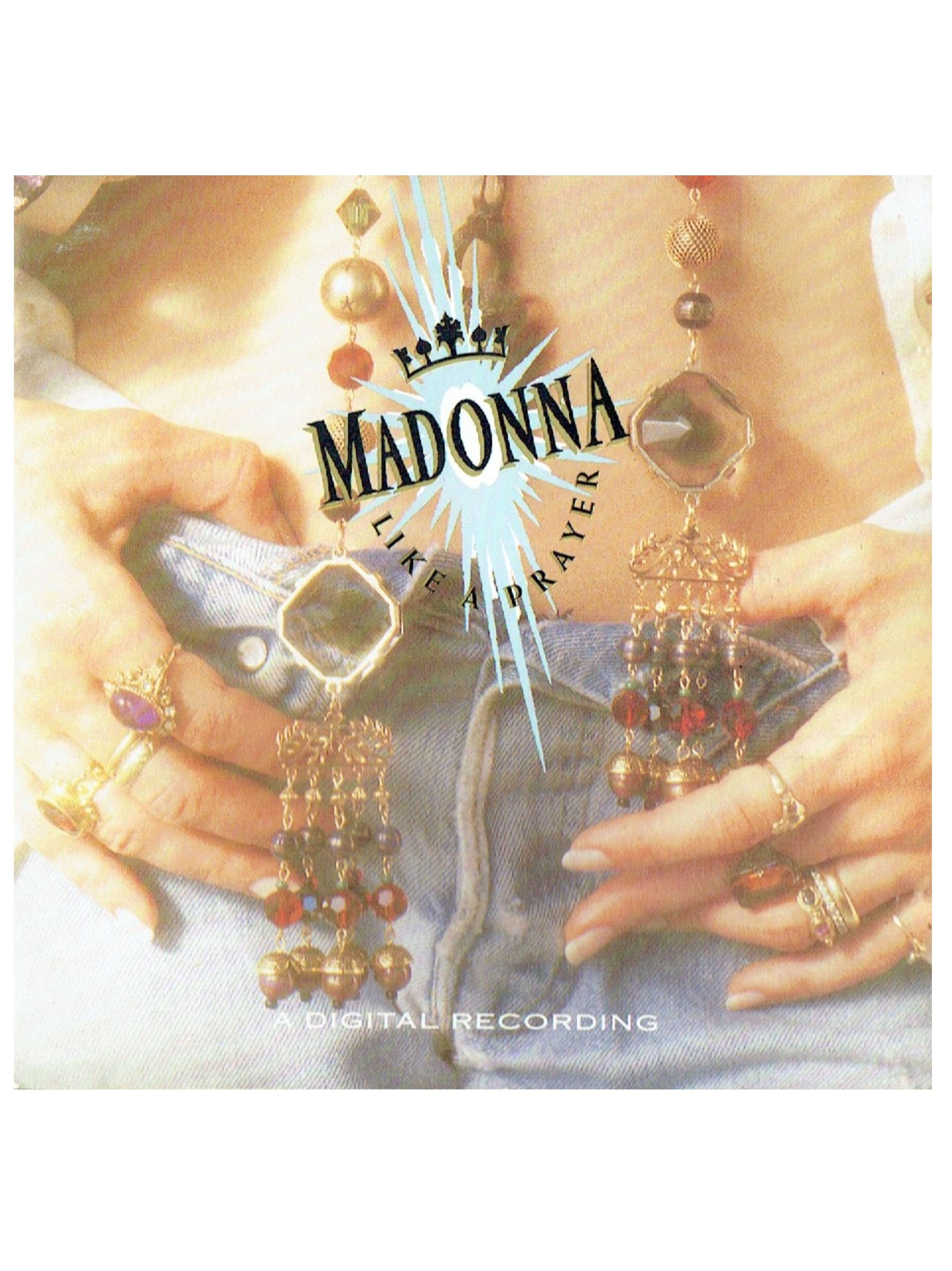Madonna Like A Prayer CD Album EU Release Includes Love Song Prince